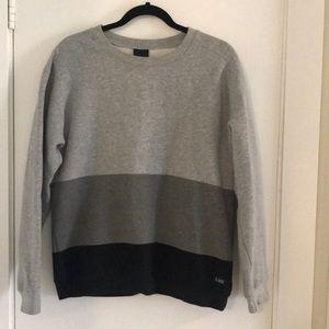 Color block sweatshirt - La Notte (Aritzia)